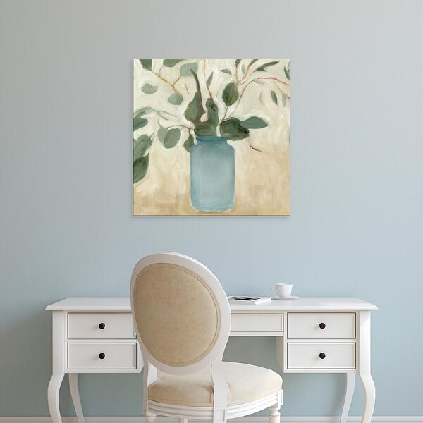 Easy Art Prints Emma Scarvey's 'Neutral Arrangement IV' Premium Canvas Art