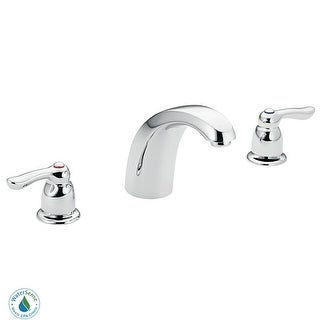 Moen 8924  Double Handle Widespread Bathroom Faucet from the M-BITION Collection (Valve Included) - Chrome