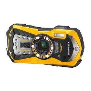 RICOH Waterproof digital camera RICOH WG-40 Yellow waterproof (International Model)