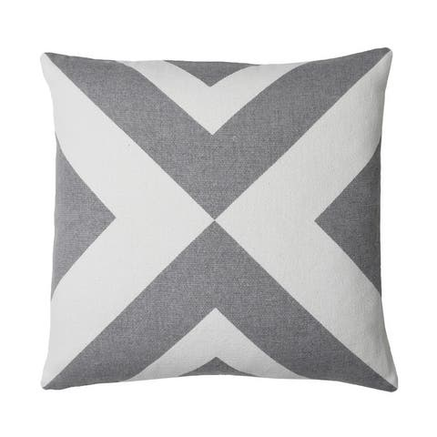 18x18 Aaron Printed Canvas Pillow