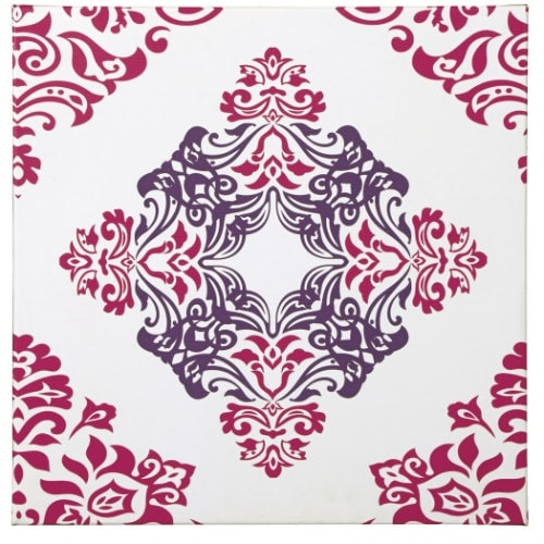 """Jadine White-Pink Wall Art A8000160 Jadine White-Pink Wall Art"""