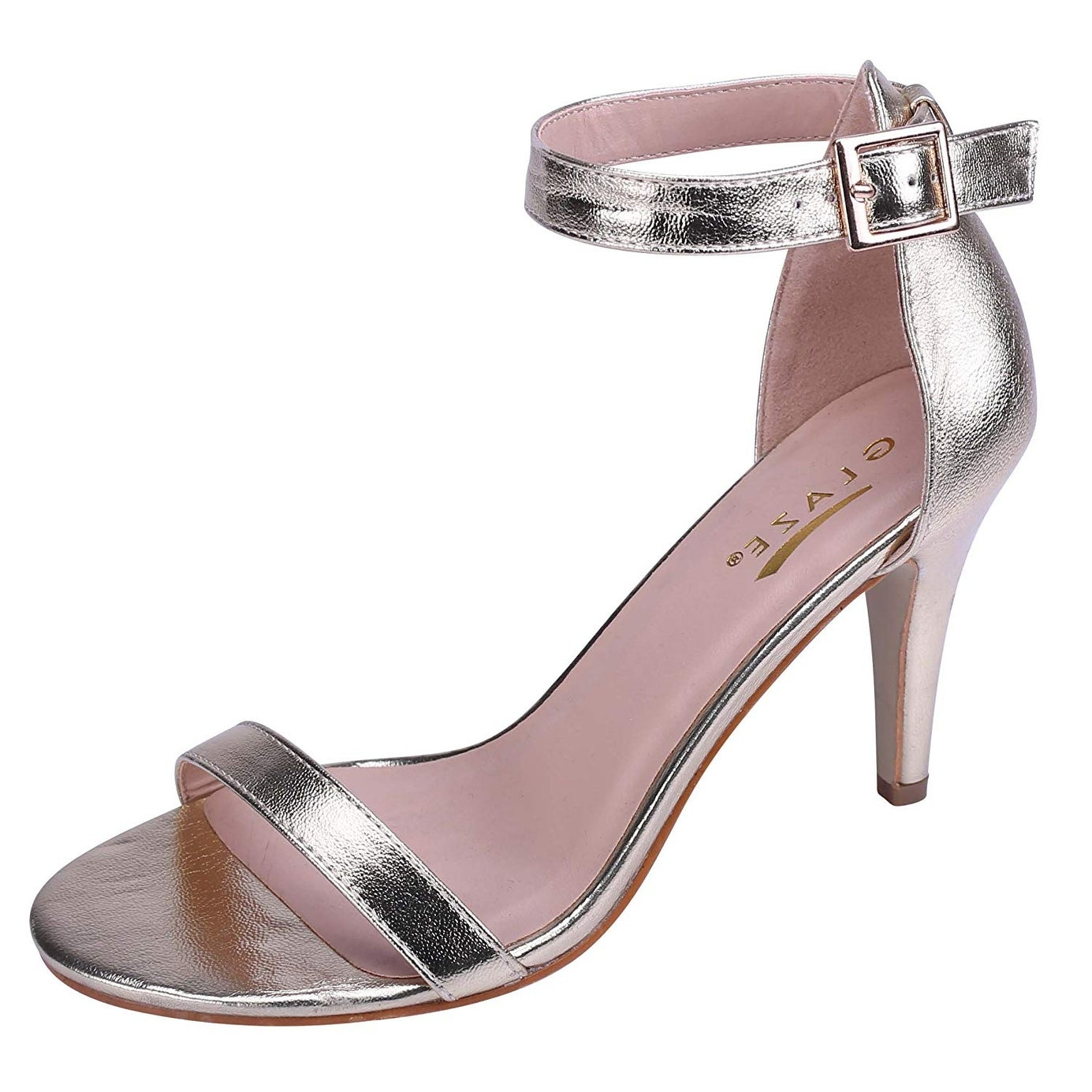 strappy open toe stiletto sandals