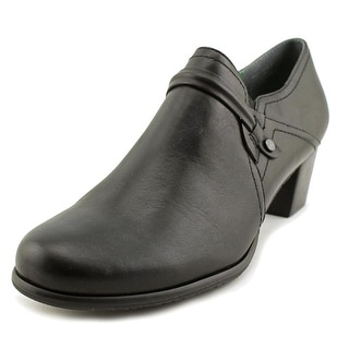 Ros Hommerson Adrian Women  Round Toe Leather Black Loafer