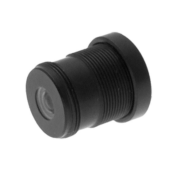 Black Security CCTV Camera Lens with 2.6MM Focal Length