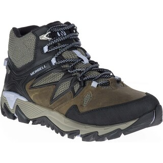 Merrell Women's All Out Blaze 2 Mid WP Hiking Shoe - Dark Olive