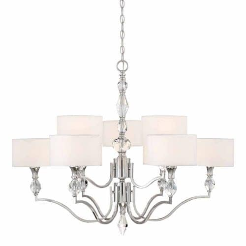 Designers fountain 89989 evi 9 light 35 wide 2 tier shaded designers fountain 89989 evi 9 light 35 wide 2 tier shaded chandelier with crystal accents free shipping today overstock 23432160 aloadofball Choice Image