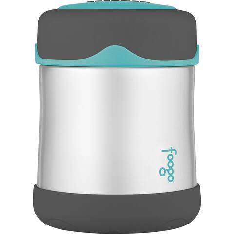 Thermos Foogo Stainless Steel, Vacuum Insulated Food Jar - Teal/Smoke - 10 oz.