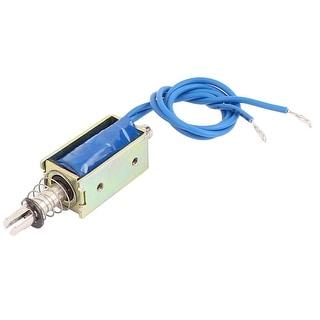 DEVMO JF-0530B DC12V 300mA 5N//10mm Pull-Push-Type DC Solenoid Electromagnet