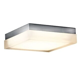 Modern Forms FM-2012-30 Matrix 1 Light LED Title 24 Compliant Flush Mount Outdoor Ceiling Fixture - 12 Inches Wide