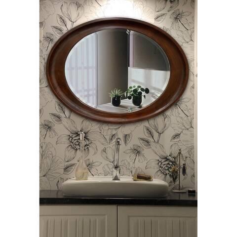 Hala Oval Wall Mirror