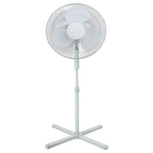 "Pelonis FS40-8M-N Oscillating Pedestal Fan, 16"""