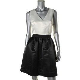 CeCe by Cynthia Steffe Womens Sleeveless Mini Semi-Formal Dress