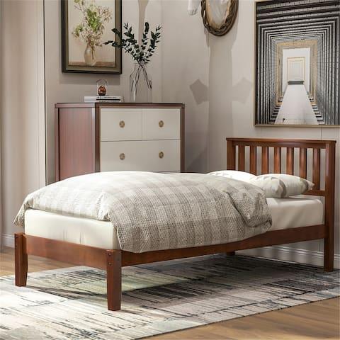 Copper Grove Seroe Twin Wood Platform Bed