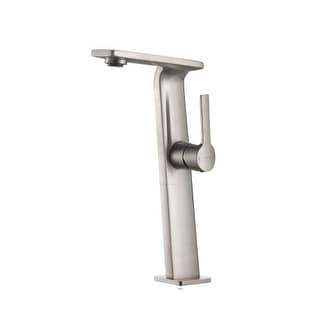 Kraus KEF-15400 Single Hole Vessel Bathroom Faucet from the Novus Collection