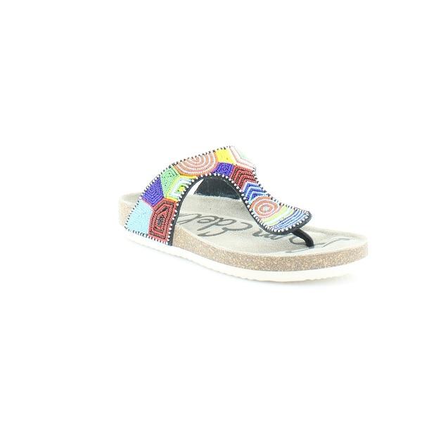 Sam Edelman Olive Women's Sandals & Flip Flops Blue Multi - 6