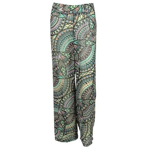 Bar III Women's Printed Desing Pants Cover ups