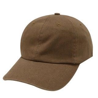 Plain Hat 100% Cotton Men Women Adjustable Baseball Cap