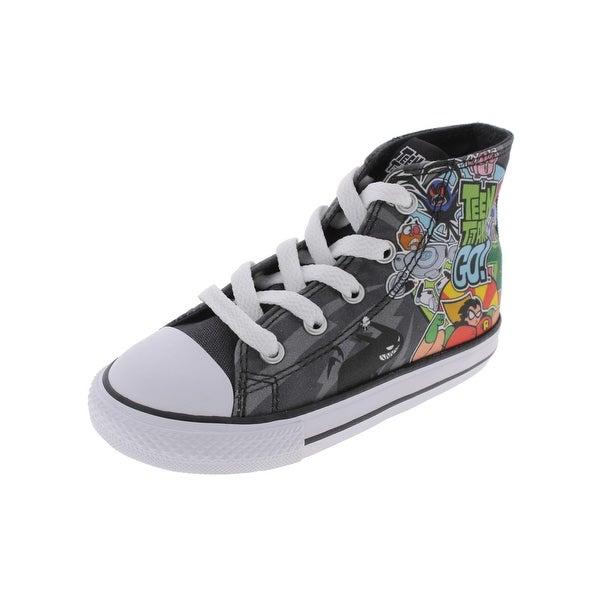 e3c014afbb37 Shop Converse Boys Teen Titans Go Casual Shoes High Top Skateboard ...
