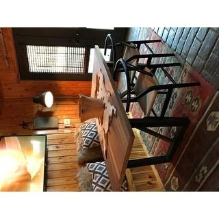 Baxton Studio Black Wood Y Dining Chair
