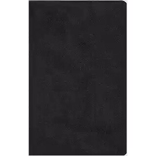 Crossway Books ESV Large Print Value Thinline Bible-Black TruTone