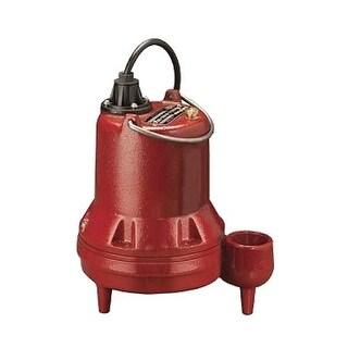 """Liberty Pumps LE51M 1/2 HP Cast Iron Sewage Pump (2"""") (Non-Automatic)"""