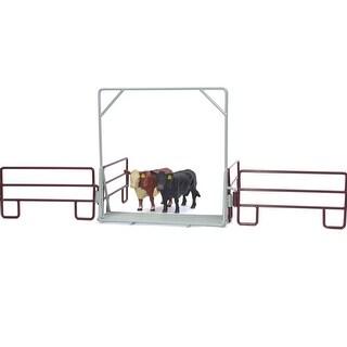 Little Buster Toy Heavy Duty Metal Cattle Guard Gray 500227