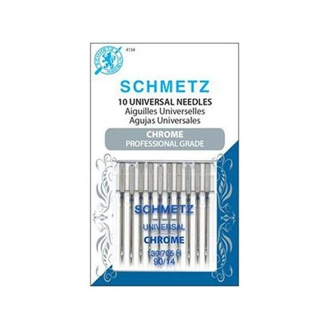 Schmetz Needle Chrome Universal Sz 90/14 10pc