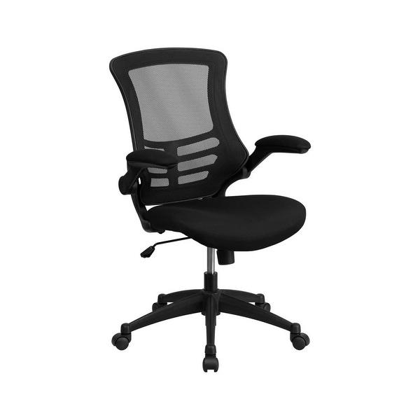 Shop Delacora FF-BL-X-5M Mesh Mid Back Adjustable Desk ...