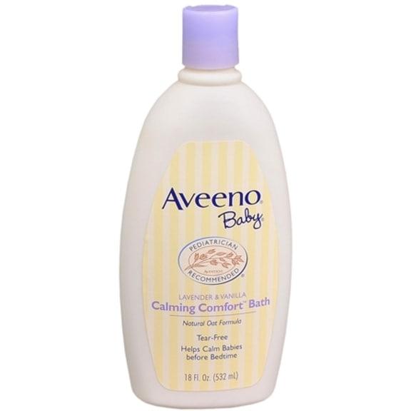 AVEENO Baby Lavender & Vanilla Calming Comfort Bath 18 oz