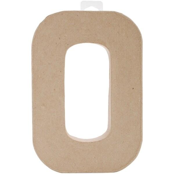 """Paper-Mache Letter 8""""X5.5""""-O"""