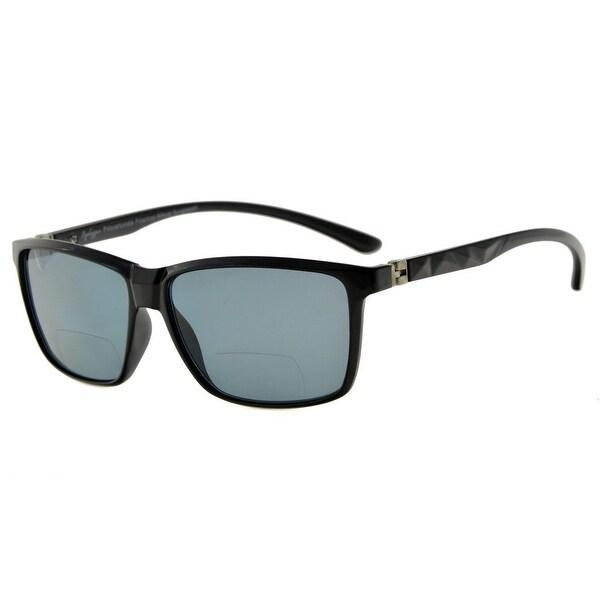 d98dbff5b0c Eyekepper 180  Spring Hinges Polycarbonate Polarized Bifocal Sunglasses  (Black Frame