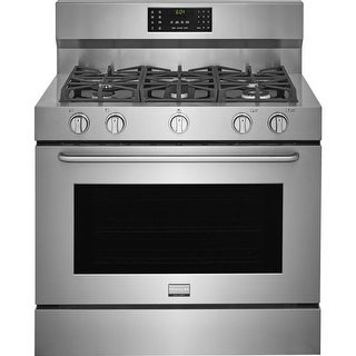 Frigidaire FGDF4085TS 40 Inch Wide 6.4 Cu. Ft. Free Standing Dual Fuel Range with Temperature Probe
