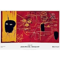 Florence, 1983, 2002 Exhibition Poster, Jean-Michel Basquiat