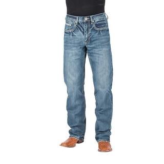 Stetson Western Denim Jeans Mens Low Rise Blue 11-004-1312-2016 BU