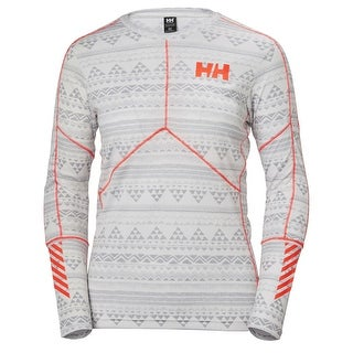 Helly Hansen 2018 Women's HH Lifa Active Graphic Crew Base Layer Top - 48391 (3 options available)