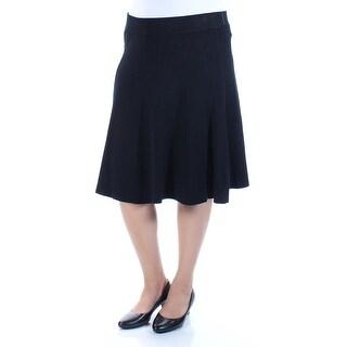 Womens Black Casual Skirt Size XXL