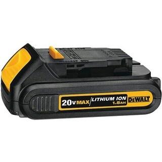 Dewalt DCB201 20-Volt Li-Ion Battery Pack - Compact 1.5 Ah