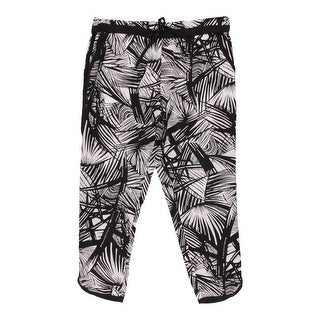 Elizabeth and James Womens Silk Printed Capri Pants - XS
