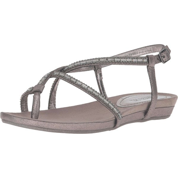 Kenneth Cole Reaction Womens lost call Open Toe Casual Ankle Strap Sandals - 7