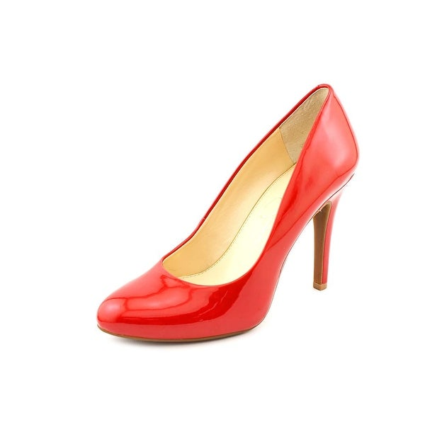 Jessica Simpson Malia Women Round Toe Synthetic Red Heels