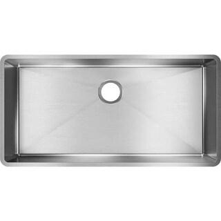 """Elkay ECTRU35179 Crosstown 36-1/2"""" Undermount Kitchen Sink with Sound Guard? Technology"""
