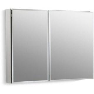 """Kohler K-CB-CLC3526FS 35"""" x 26"""" Double Door Reversible Hinge Frameless Mirrored Medicine Cabinet"""