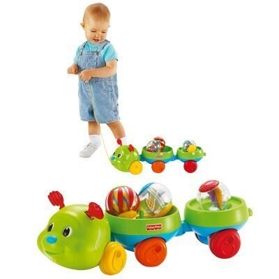 Roll-a-Rounds Pull & Spin Caterpillar