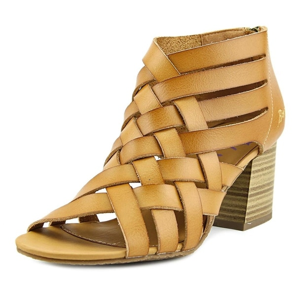 Blowfish Flame Women Open Toe Synthetic Tan Sandals