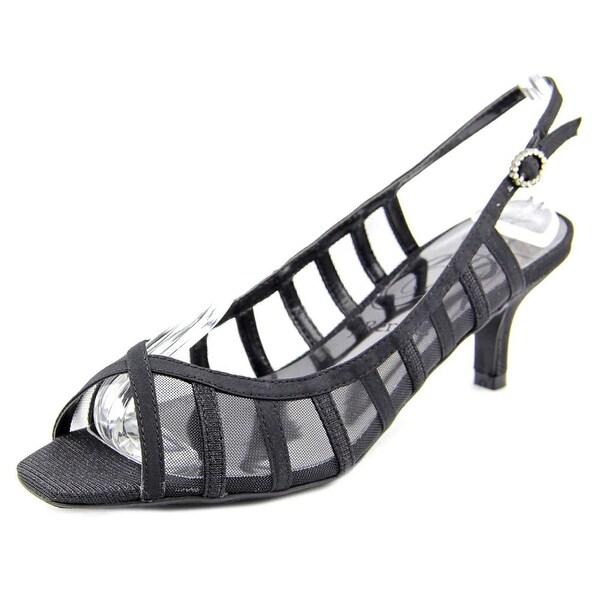 J. Renee Rebeka Women W Open-Toe Synthetic Slingback Heel