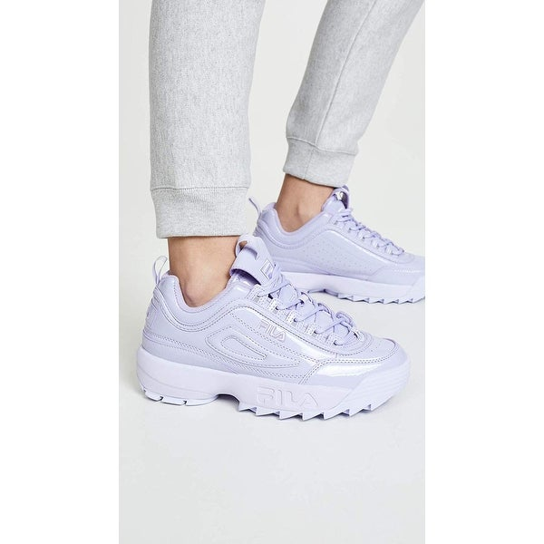 Fila disruptor low wmn white | All white shoes, Cute