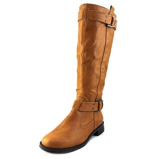 Aerosoles Ride Line Women W Round Toe Synthetic Brown Knee High Boot