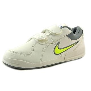 Nike Pico 4 (PSV) Youth Round Toe Leather White Sneakers