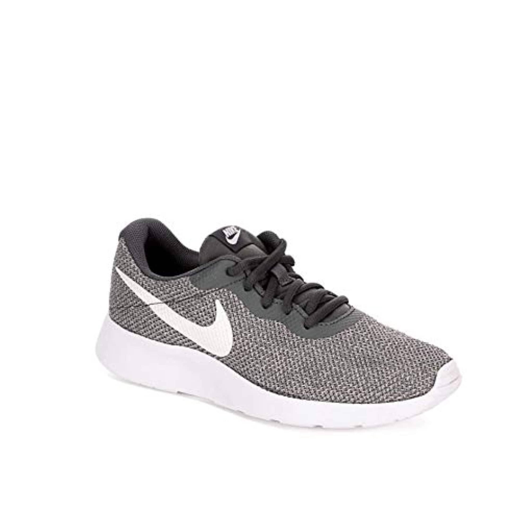 Tanjun Trainers Shoes, Dark Grey/White