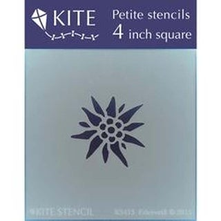 "Edelweilb - Judikins Kite Petite Stencil 4"" Square"